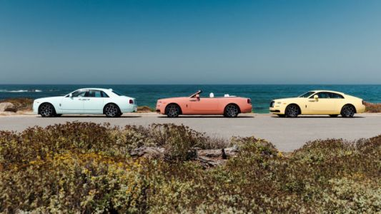 Rolls-Royce Says 'Hell Yes' To Summer Pastels