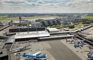 Hundreds of flights cancelled due to expected heavy winds at Amsterdam Airport
