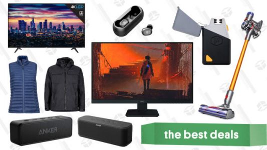Tuesday's Best Deals: Dyson Vacuum, Marmot, Anime, Anker Speakers, and More