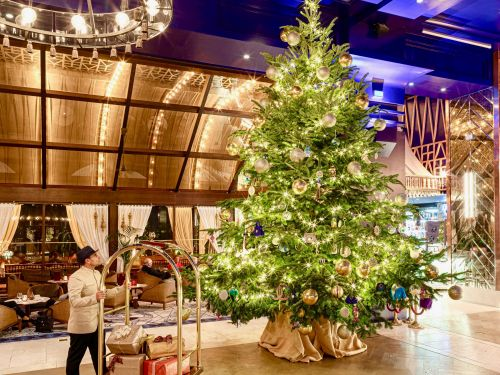 A hotel's $15 million Christmas tree in Spain might be the most expensive in the world