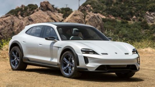 The Electric Porsche Taycan Will Get A Sweet Lifted Wagon Version Too