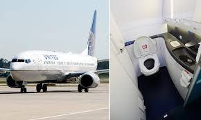 Malaysian man places camera in United flight's first-class bathroom