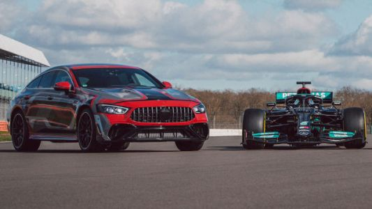 AMG's First Road Car With F1 Hybrid Tech Is The Long-Winded Mercedes-AMG GT 4-Door E Performance
