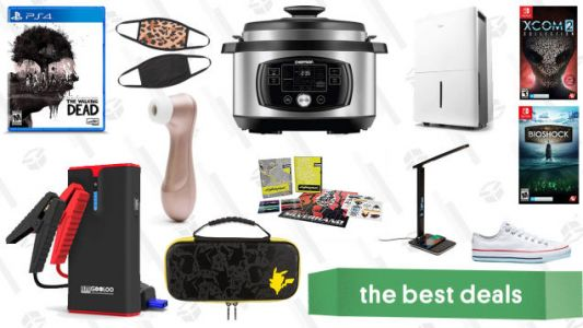 Friday's Best Deals: The Walking Dead Collection, Fashion Face Masks, Midea Dehumidifier, Converse Last Chance Sale, Satisfyer Pro 2 Vibrator, and More