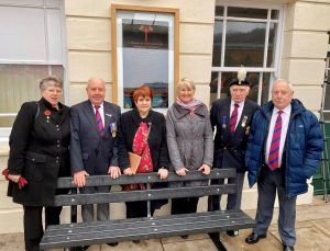 World War One Memorial Relocation Officially Welcomed to Bangor Railway Station