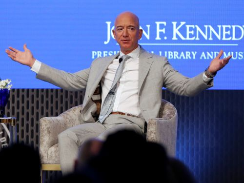 Jeff Bezos says he's donating $100 million to help food banks that are facing shortages due to the coronavirus outbreak