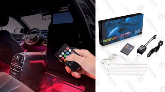 For $24, Your Car Can Glow in RGB Just Like Your Keyboard