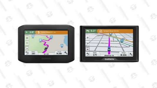 Always Find Your Way Home with These Refurbished Garmin GPS