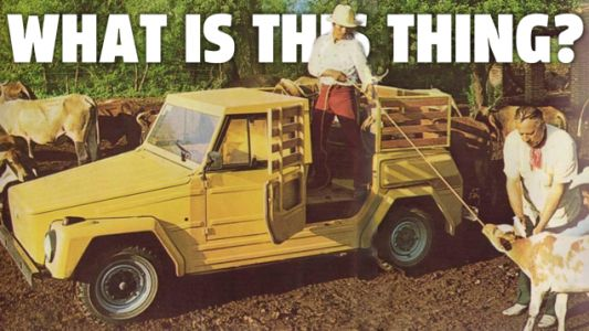 I Can't Believe I've Never Heard Of This Very Weird Factory-Built Air-Cooled Volkswagen Truck