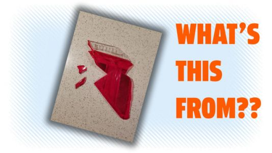 Can You ID This Shattered Tail Light From A Parking Garage Accident?