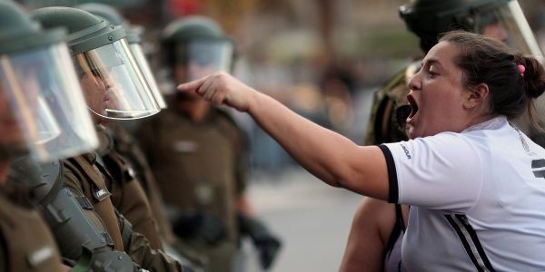 Using the military to quash protests is bad for democracy. The US's neighbors know that all too well