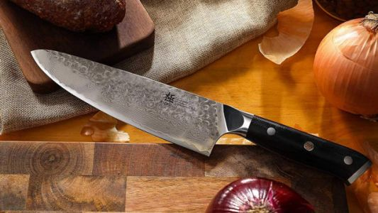Upgrade to Kyoku's Gorgeous Chef's Knife For $70
