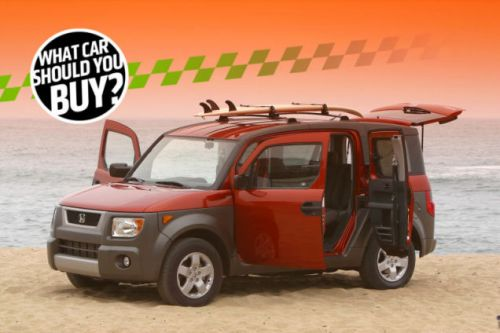 I Need a Replacement For My Honda Element and it Can't Be Boring! What Car Should I Buy?