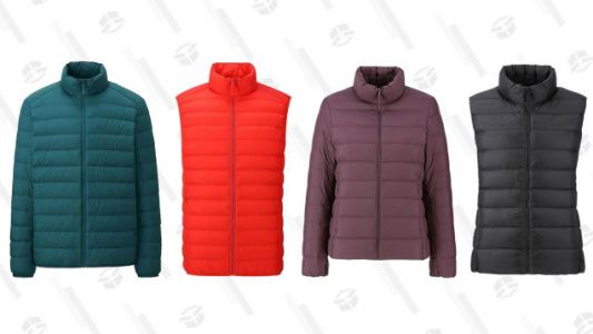 Here's an Ultra Good Deal on Ultra Light Down Jackets and Vests at Uniqlo