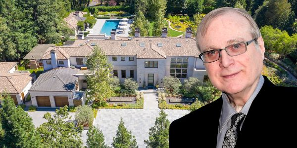 Paul Allen's Silicon Valley estate just hit the market for $41.5 million. Take a look inside the late Microsoft cofounder's 7-bedroom mansion in America's richest town