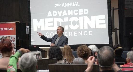 Vaccine and coronavirus skeptics packed into a hotel for a conference over Memorial Day weekend, defying guidelines