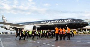 Air New Zealand Employees Farewell All Blacks with Special Haka