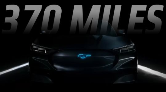 Ford's Mustang-Inspired Electric SUV Will Have a 370 Mile Range