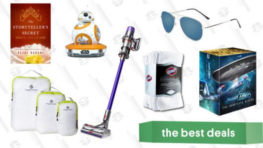 Sunday's Best Deals: Dyson Cordless Vacuums, Star Trek: TNG, Microfiber Towels, and More