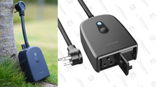 Stack a Couple Coupons to Get This Outdoor Smart Plug for $14