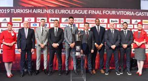 The Turkish Airlines EuroLeague Final Four has landed in Spain's Vitoria-Gasteiz