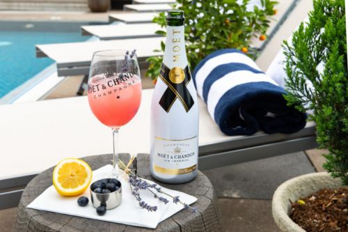 Cocktail of the Week: Adam Rippon x Moët & Chandon's Moët Riviera Spritz