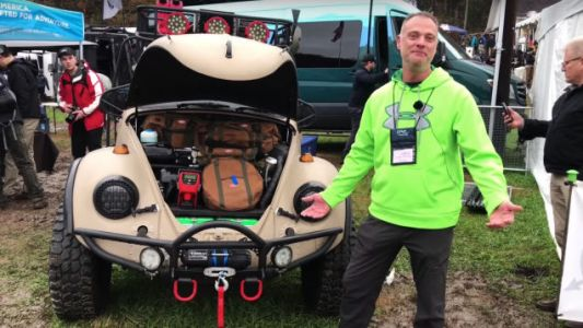 I Love Everything About This VW Bug Built for Overland Adventures