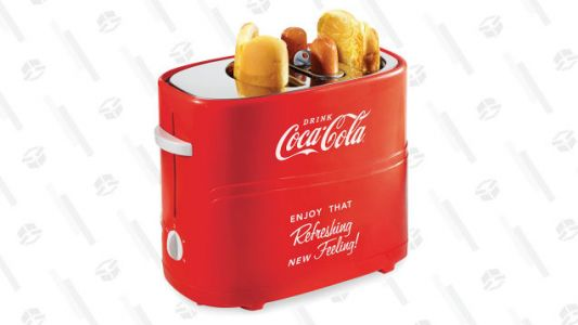 Satisfy Your Summer Craving With a $20 Coca Cola Hot Dog and Bun Toaster