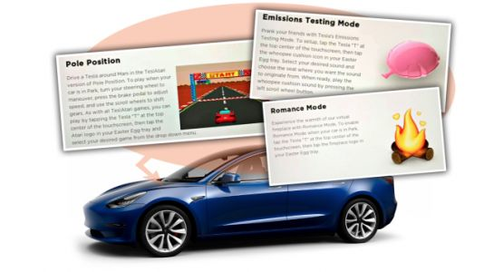 Tesla Introduces 'Romance Mode' and On-Demand Fart Noises Because Tesla Is About Making the World Better