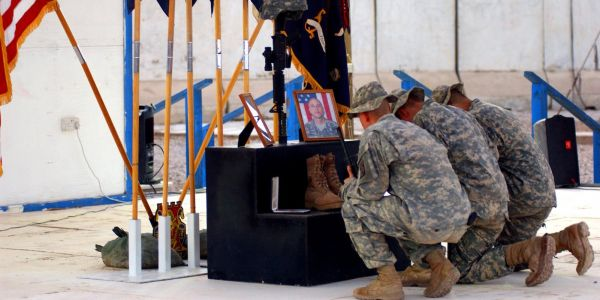 A US Army soldier will receive posthumous Medal of Honor for tackling a suicide bomber in Iraq