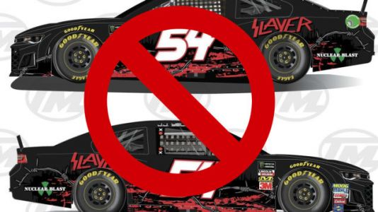 Slayer Livery Too Metal For Rick Ware Racing