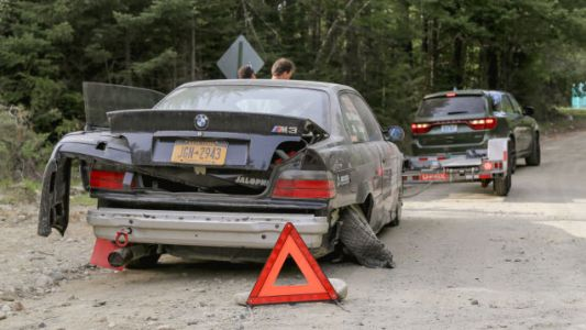 I Crashed My BMW M3 Rally Car