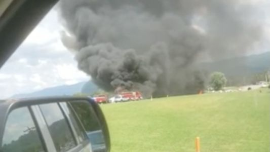 Dale Earnhardt Jr. Taken To Hospital After His Plane Skids Off Runway, Catches Fire: Reports