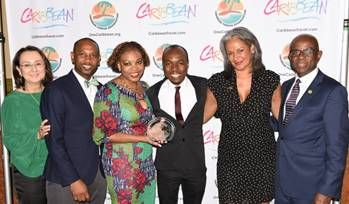 Caribbean Diaspora journalist wins top honours at Caribbean media awards gala hosted by Marlie Hall