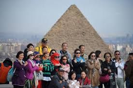 Tourists visit Giza pyramids despite bomb attack