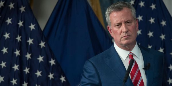 New York City Mayor Bill de Blasio slammed Amazon for canceling its HQ2 project, calling it 'an abuse of corporate power'