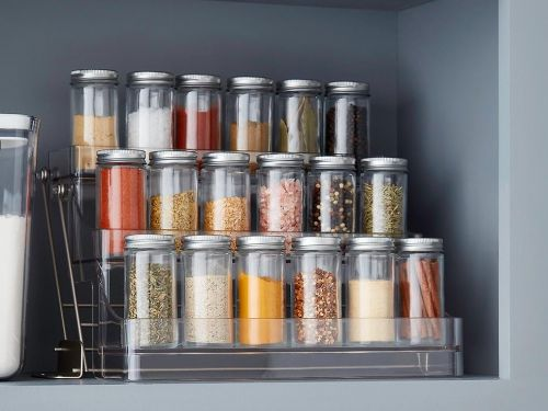 The Container Store is having a sale on kitchen and pantry organizers - take up to 25% off in preparation for the holidays