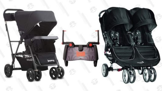 The Best Strollers For Getting Around With Two Kids