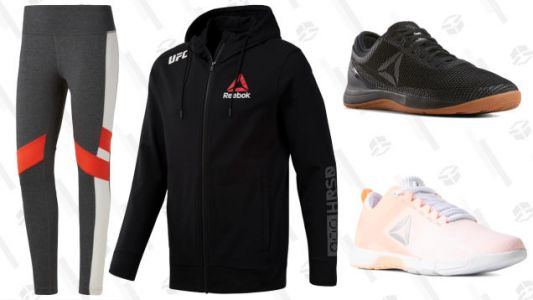 Reward Yourself For Sticking to Your Workout Resolutions With Up to 70% Off Sale at Reebok
