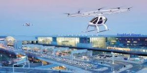 Frankfurt airport partners with Volocopter for flying taxi service