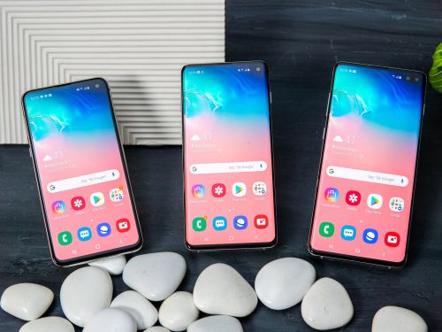 How to record audio on a Samsung Galaxy S10 using its built-in Voice Recorder, with 3 different modes