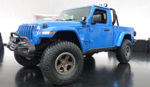 The Jeep J6 Concept Is the Regular Cab Long-Bed Jeep Pickup We've All Been Yearning For