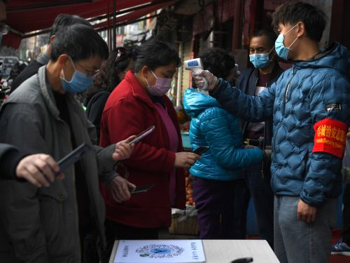 The largest iPhone maker in China has reopened, and it's taking extreme lengths to stop the spread of coronavirus