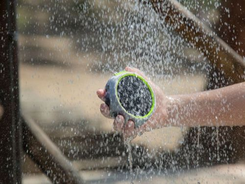 This $30 Bluetooth speaker was originally intended for use during extreme sports, but it's actually perfect for showers