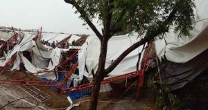 14 dead, 50+ injured as tent collapses due to heavy rain & winds in Rajasthan