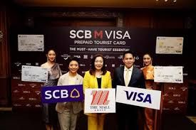 Thailand launches new SCB M Visa prepaid tourist card