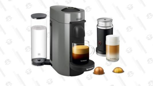 Don't Buy This Nespresso Because George Clooney Told You To. Buy It Because It's a Great Deal.
