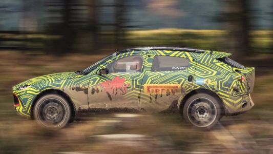 The Aston Martin DBX Probably Has an AMG V8 and Atrocious Rear Visibility