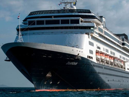 I begged my parents not to go on their Holland America cruise. Now their ship is stranded at sea - and it's unclear when they can return to land
