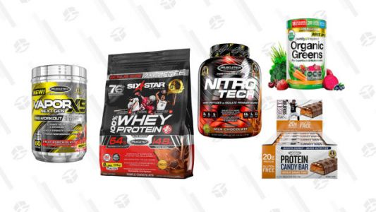 Save on Whey Protein and Energy Supplements with This MuscleTech Gold Box